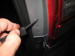 Mengganti Bola Lampu Rem Belakang Honda CR-V