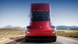 Jangkauan Tesla Semi Truk