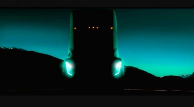 Mengintip Tesla Semi Truk yang akan Segera Hadir