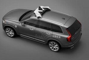 Volvo dan Uber Robotaxi