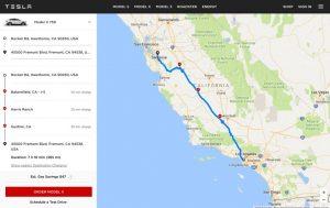 peta lokasi supercharger Tesla