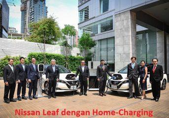 Inisiatif Nissan Home-Charging Mobil Listrik di Thailand