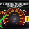 2 Cara Reset Manual ECU saat Check Engine Hidup