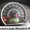 Tanda Kunci pada Mitsubishi Mirage, Cara Menghilangkan