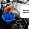 Daftar Kapasitas Oli Mesin Mobil Toyota Lengkap